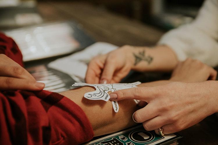 Before the tattoo