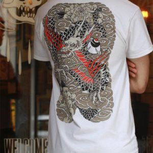 Japanase Dragon Backpiece T Shirt