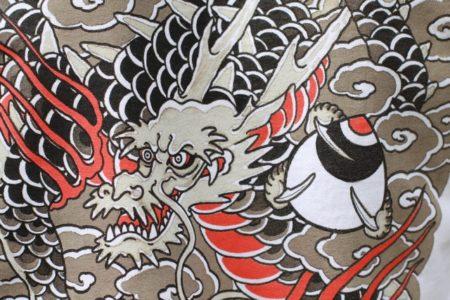 Dragon with hoju