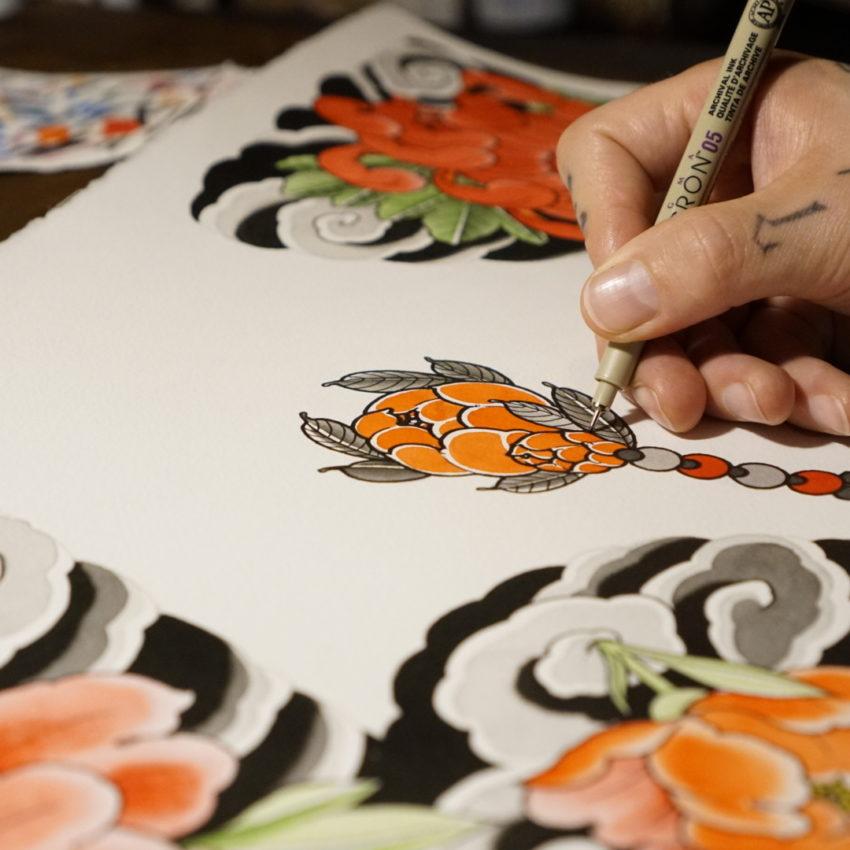 Tattoo Kunst und Haltbarkeit