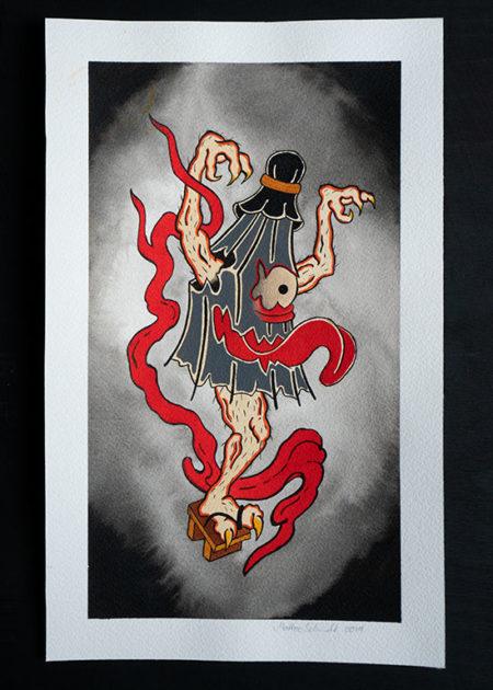 kaza-obake painting