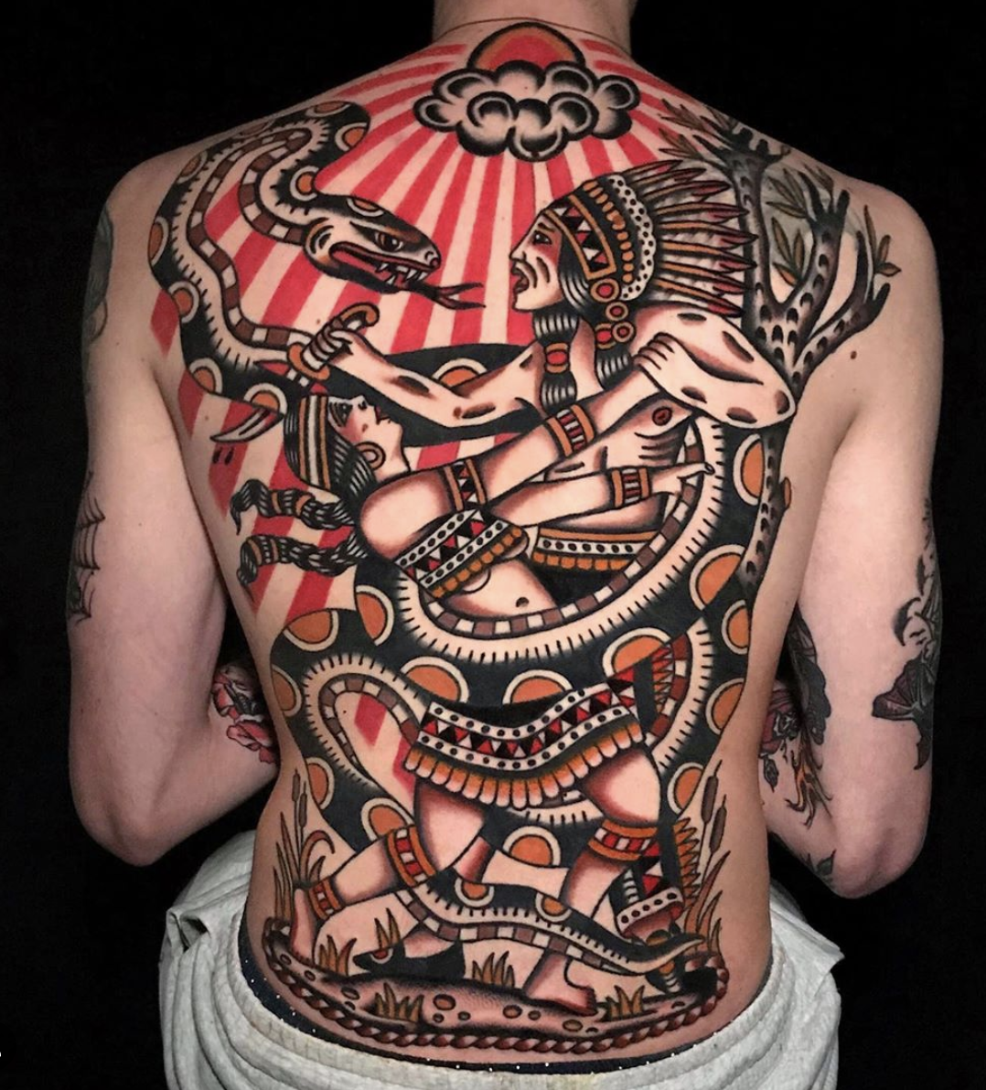 Francesco Ferarra guest spot berlin tattoo