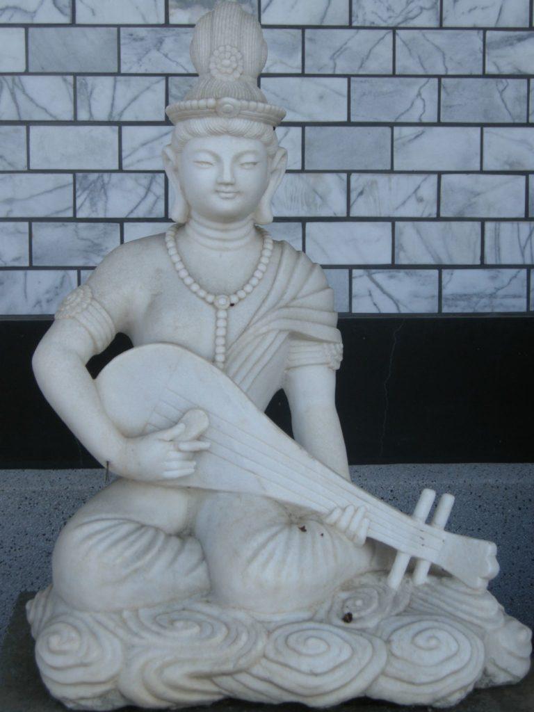 Benzaiten with instrument