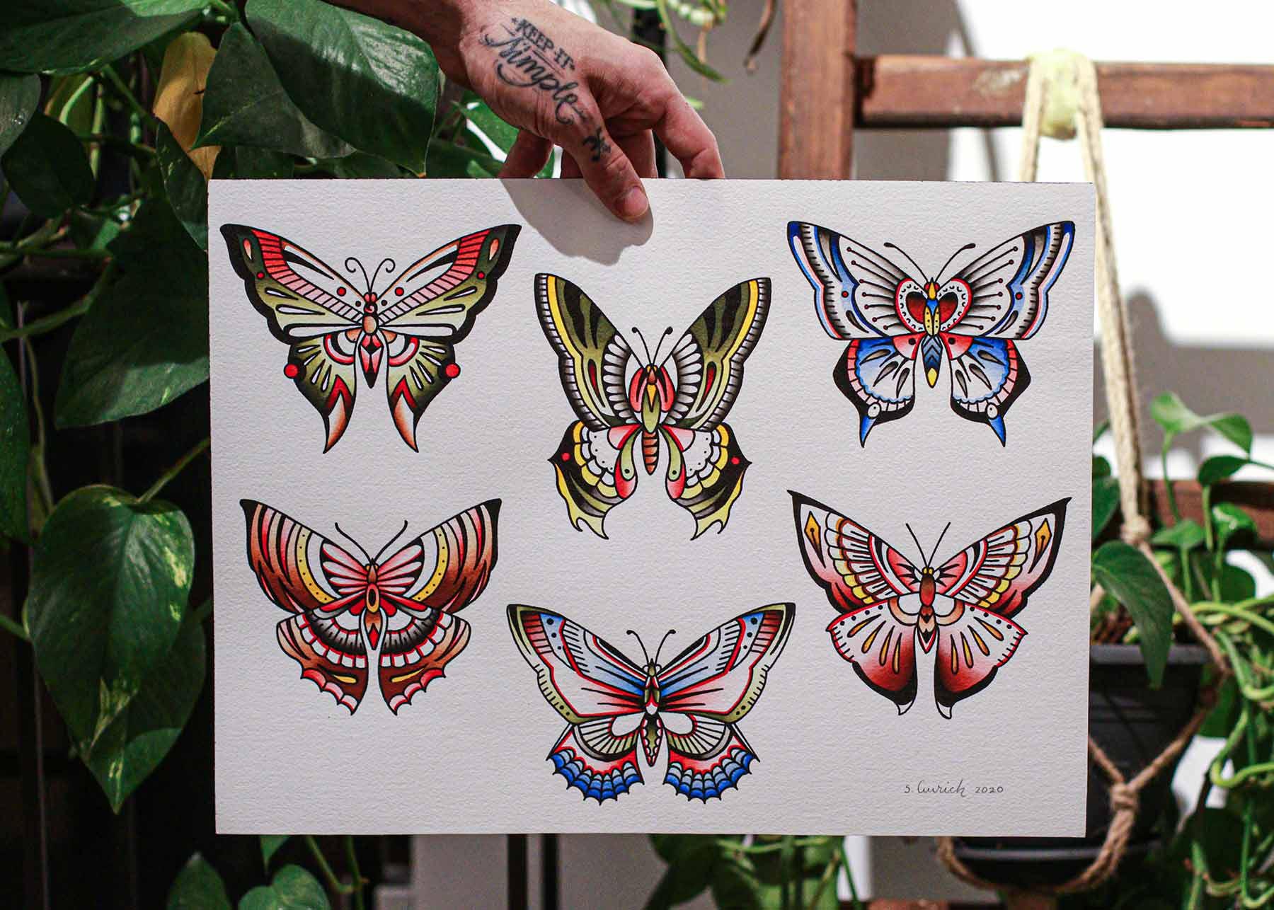 Butterfly flash from Sebastian Aurich