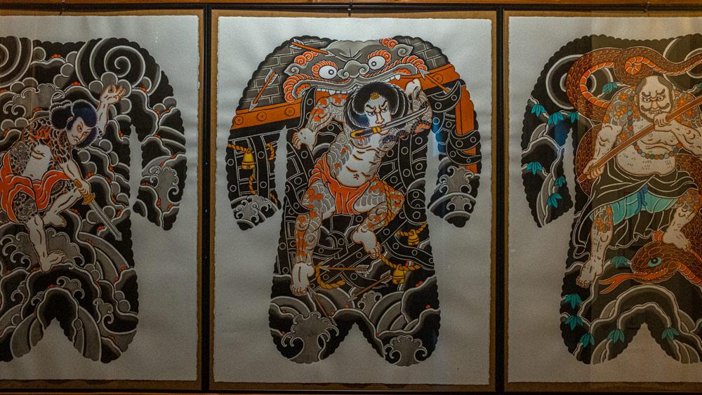 3 Shuihu Zhuan backpiepe designs by claudio